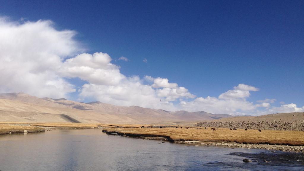 Pamir Kirghiz Afghanistan Lac Plateau