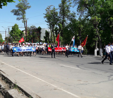 Marche Och Kirghizstan