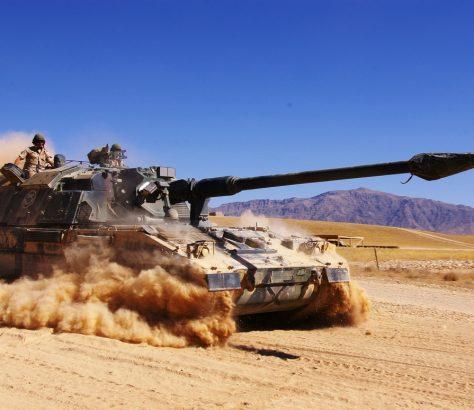 Afghanistan Char Américain Guerre Menace Tank