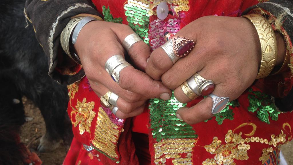 Pamir Kirghiz Afghanistan Bijoux Femme