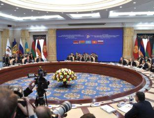 Union économie eurasiatique UEE Bichkek Sommet