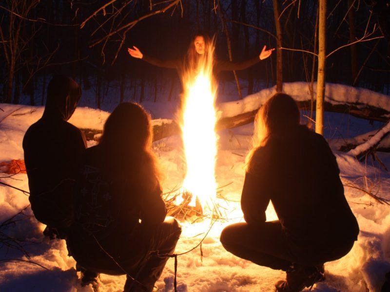 Le groupe de black metal Darkestrah