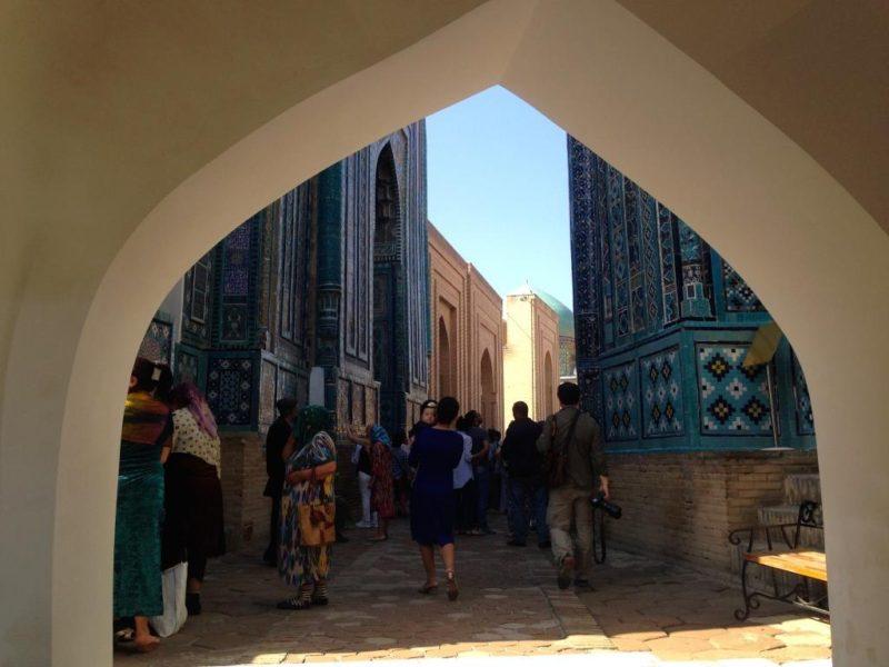 Ouzbékistan Samarcande Shah i Zinda