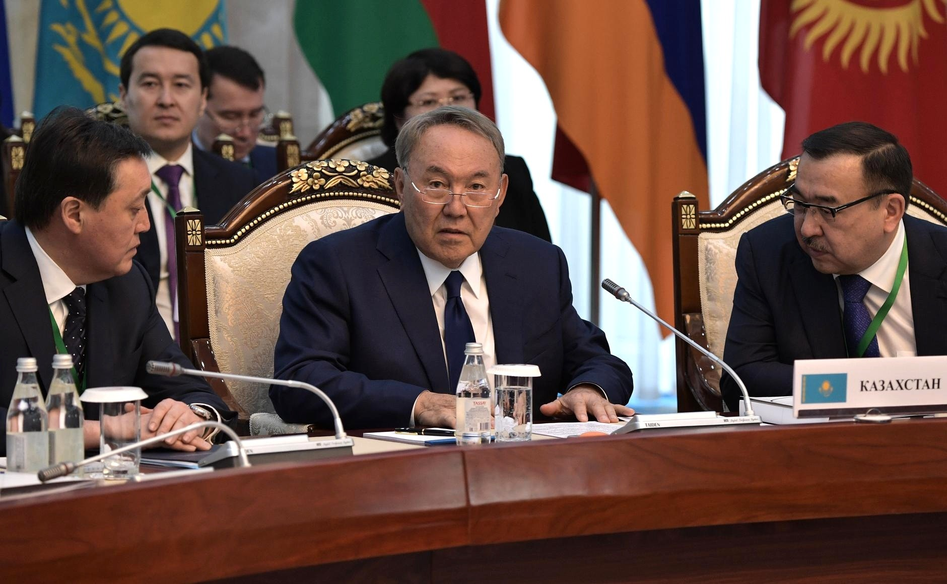 Noursoultan Nazarbaïev Union économique eurasiatique UEE Bichkek Kirghizstan Kazakhstan
