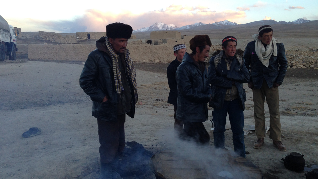 Pamir Kirghiz Afghanistan Hommes Cuir Montre