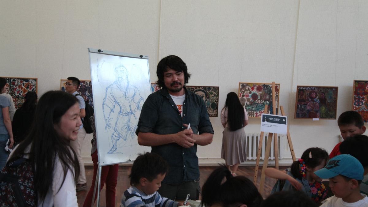 Nuit des musées Bichkek 2017 Kirghizstan Djoum Gounn Djum Gunn