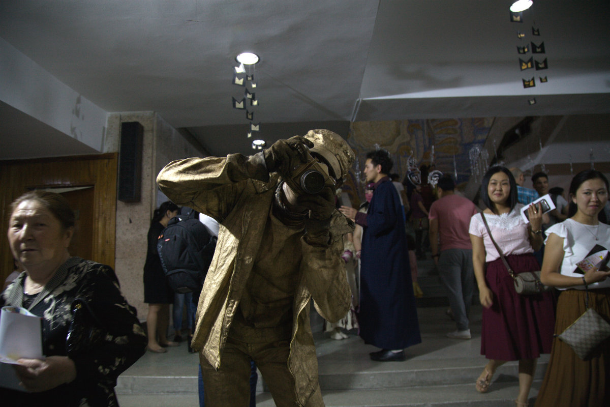 Nuit des musées Bichkek 2017 Kirghizstan Photographe