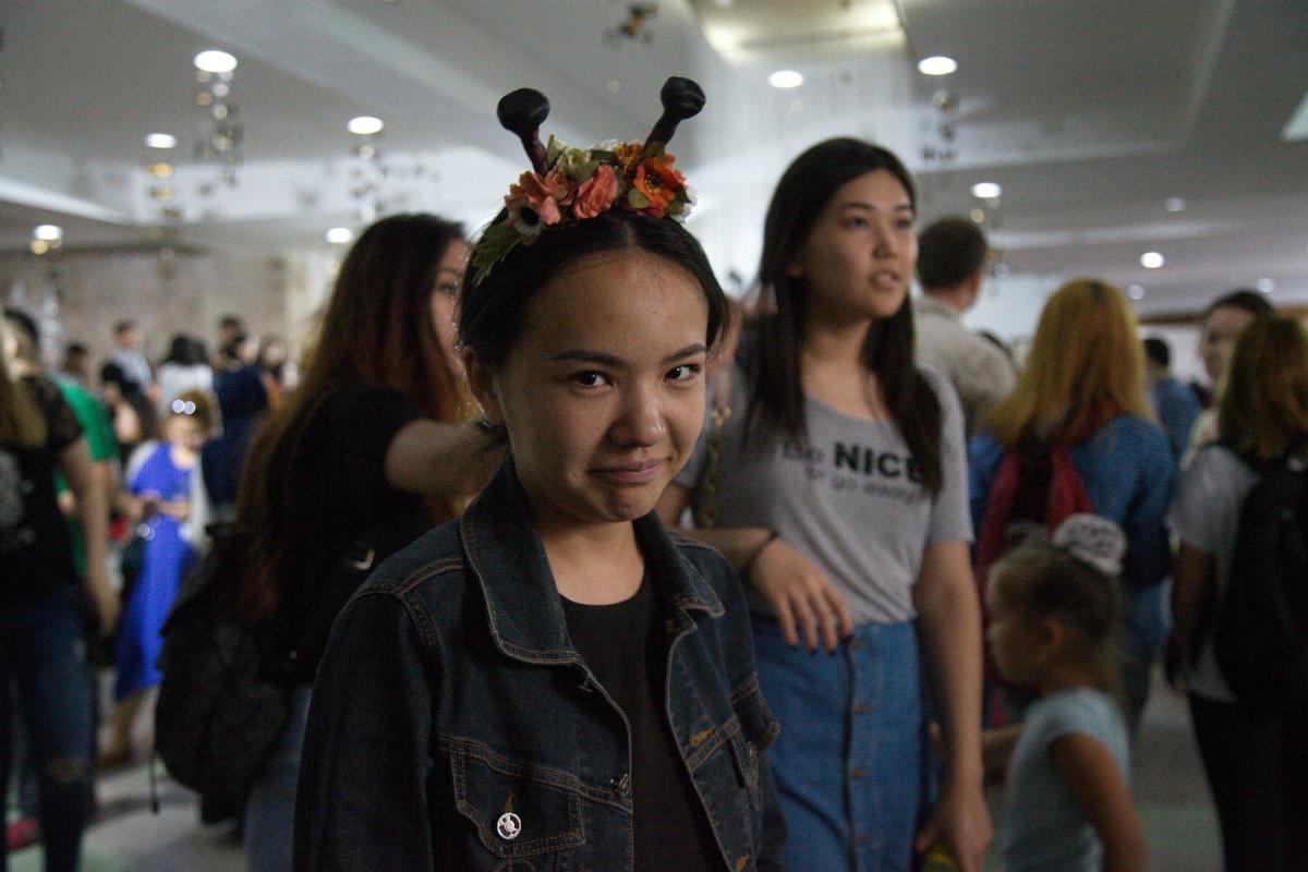 Nuit des musées Bichkek 2017 Kirghizstan Fille
