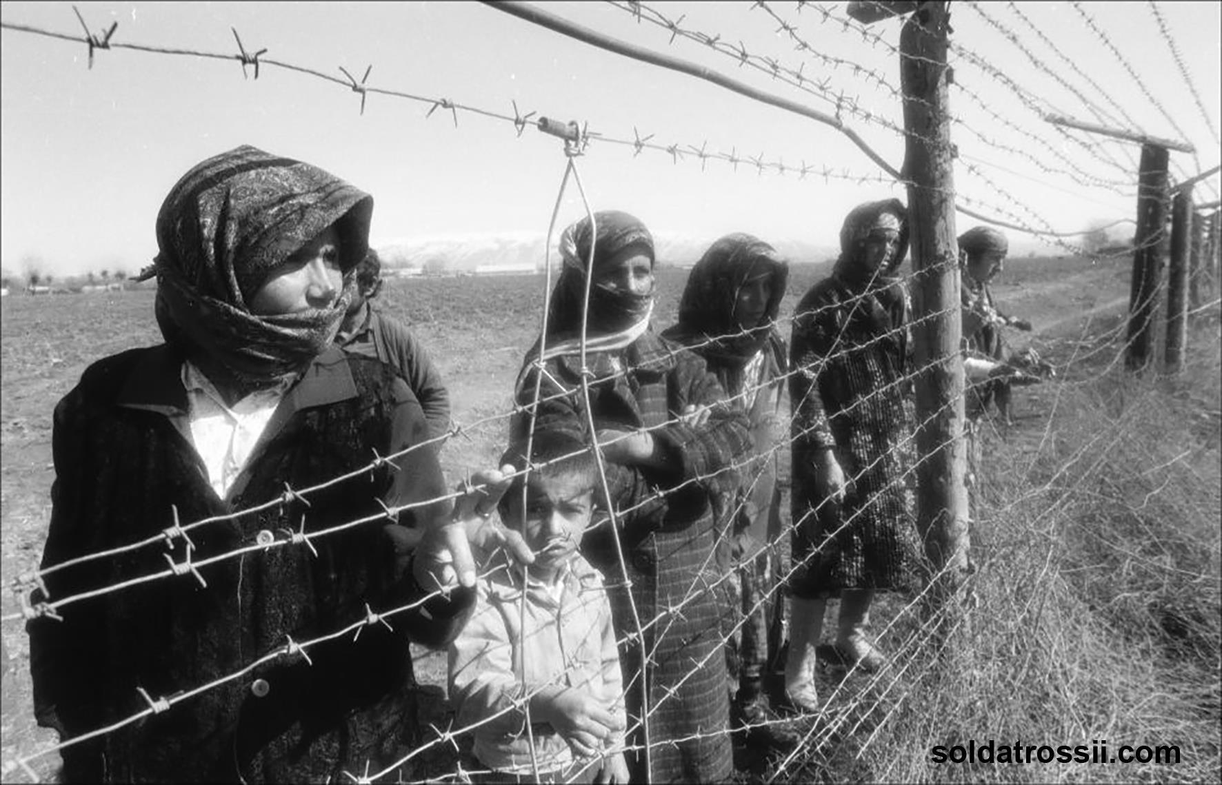 Guerre civile Tadjikistan Réfugiés