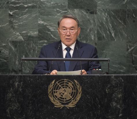 Noursoultan Nazarbaïev Kazakhstan ONU Diplomatie