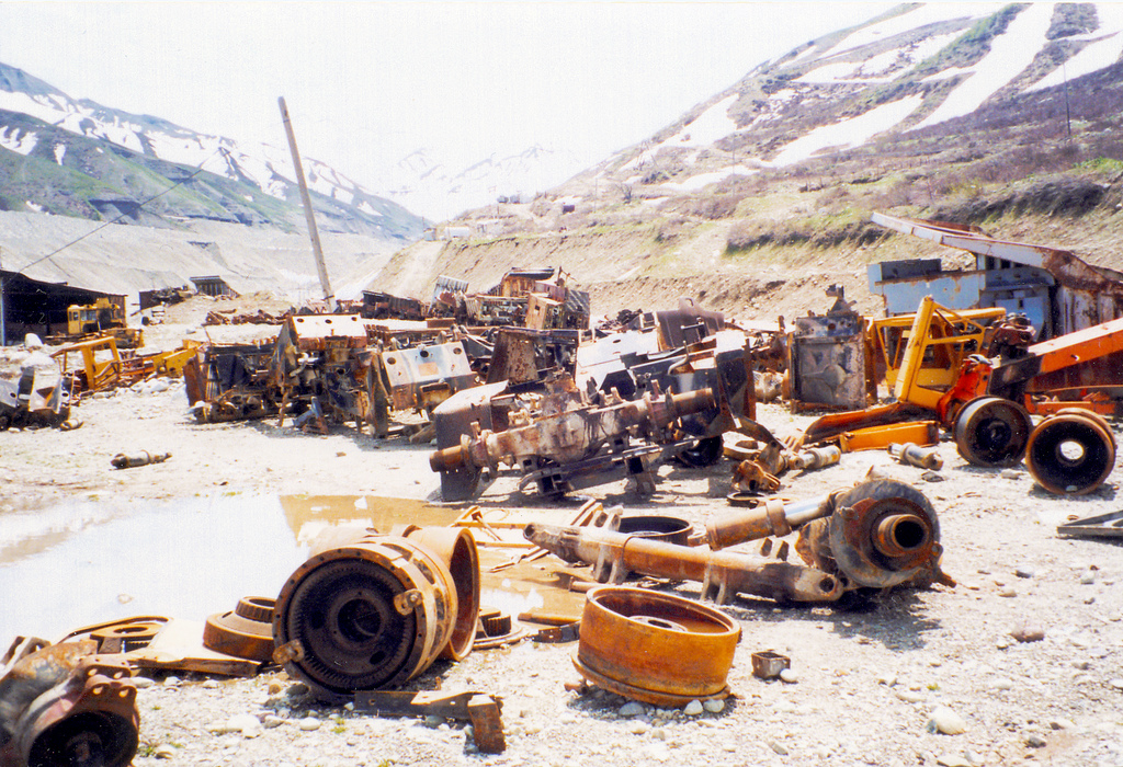 Guerre civile Tadjikistan Mine Destruction 1992 1997