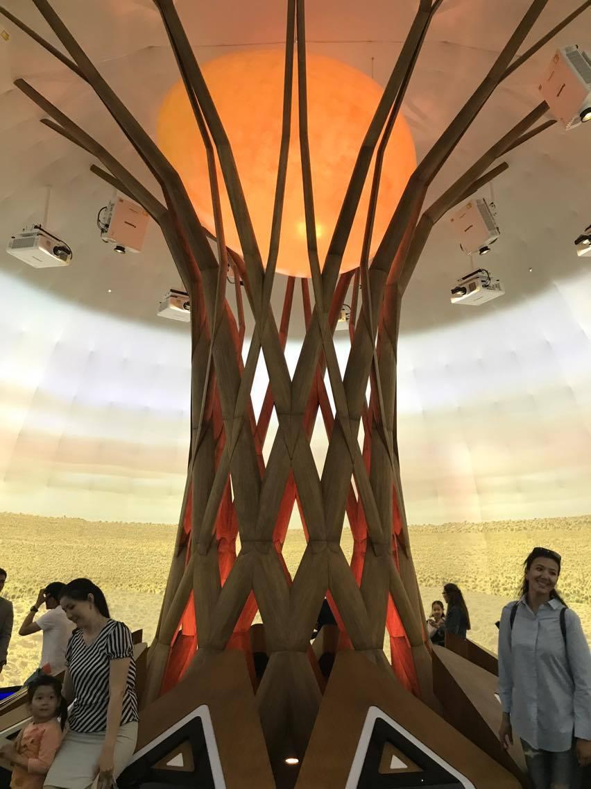 Nour Alem Pavillon Kazakh