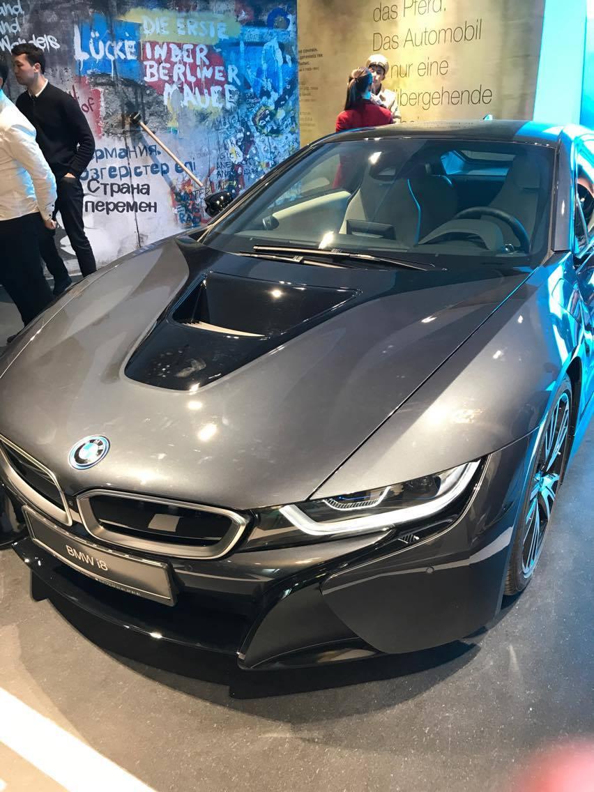BMW Hybride Pavillon Allemand