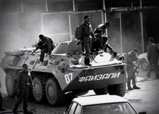 Spetsnaz guerre civile Tadjikistan Russie