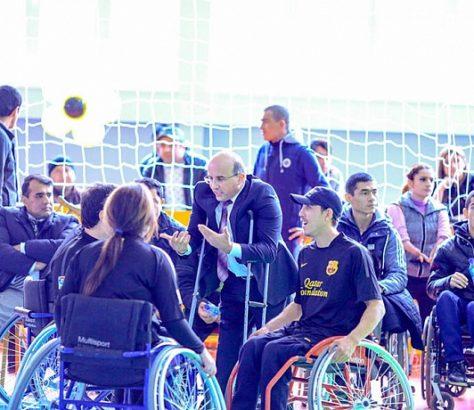 Football personnes handicapées