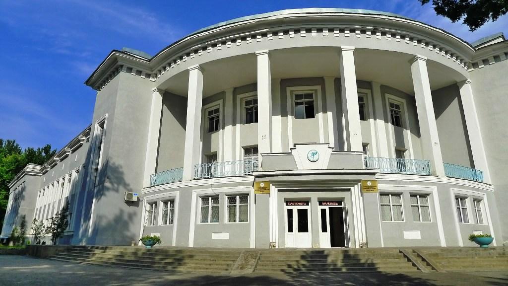 Douchanbé Architecture Tadjikistan Polyclinique Bâtiment vieux