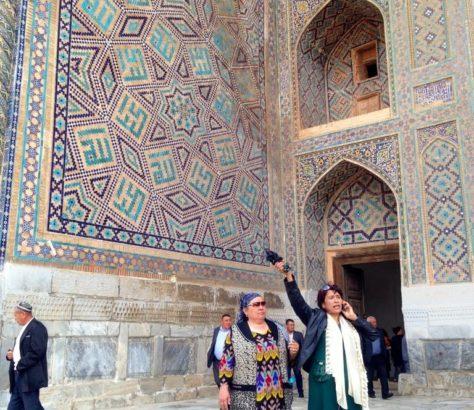 Registan Samarcande Ouzbékistan Rendez-vous Monument Tourisme