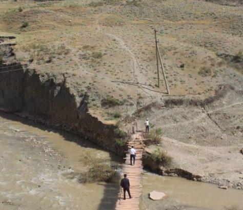 Pont Kachkadaria Ouzbékistan