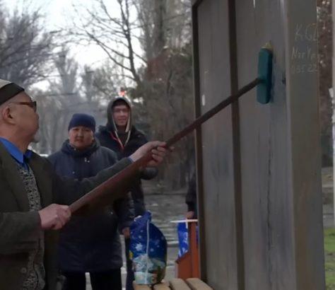 Nettoyage Bus Bénévoles Centrasiatiques Quotidien