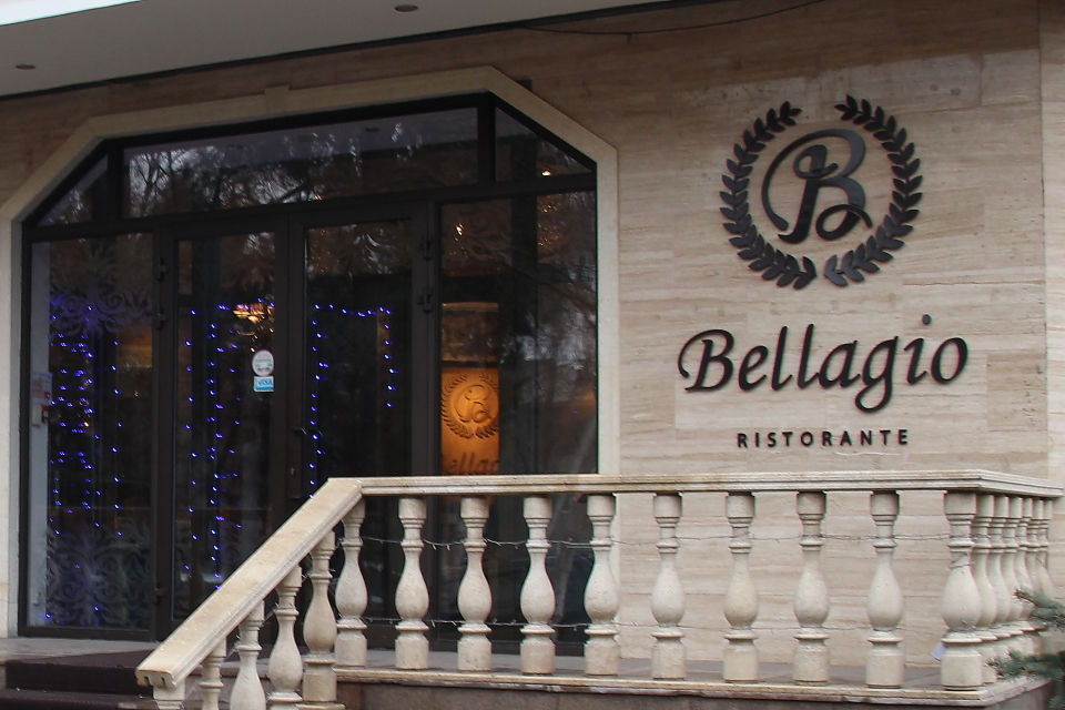 Bellagio Restaurant Italien Centre Bichkek