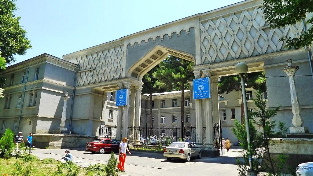 Douchanbé Architecture Tadjikistan Douanes Brûlures Bâtiment vieux