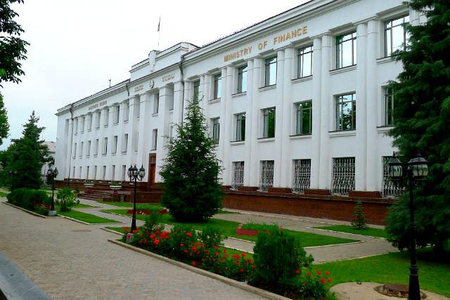 Douchanbé Architecture Tadjikistan Commissaire des peuples Bâtiment Vieux Douchanbé