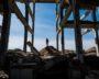 Sary Chagan Ruines Kazakhstan Bâtiment Militaire Pierre Vestige