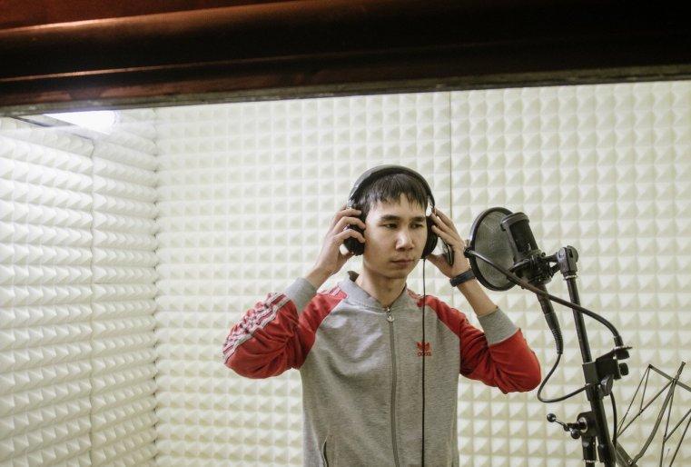 Ekibastouz Kazakhstan Timour Touleoubaïev Rap Enregistrement