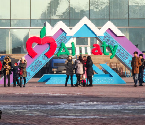 Almaty Place Kazakhstan Aude Ceccarelli Kazakhstan chroniques vagabondes