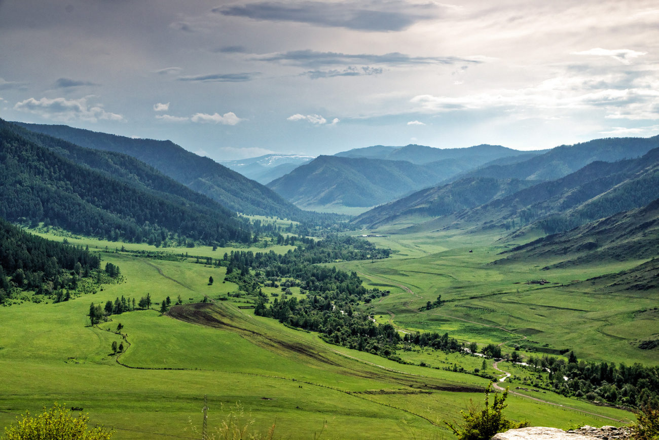 Vallée Altaï Russie