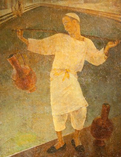 AlexandreNikolaïev Ousto Moumine Peinture Ouzbékistan Noukous Savitsky