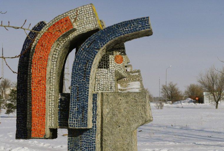 Stepnogorsk Kazakhstan URSS Monument