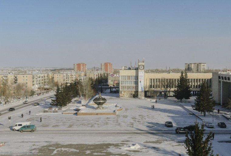 Stepnogorsk Kazakhstan Mairie Place