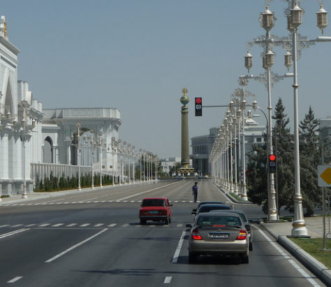 Capital of Turkmenistan Ashgabat