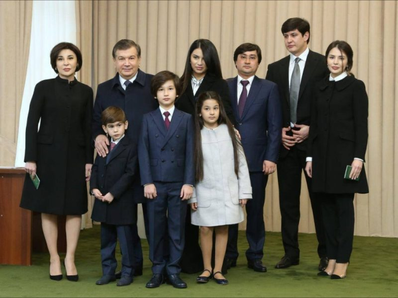 Chavkat Mirzioïev Famille Ouzbékistan Président Asie centrale