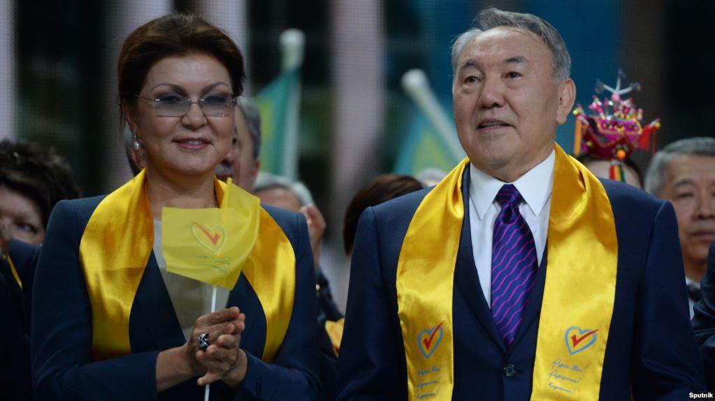 Dariga and Nursultan Nasarbayev Kazakhstan