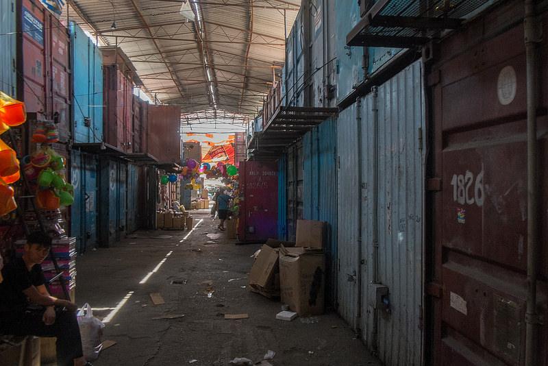 Dordoï Kirghizstan Bazar Container Marché