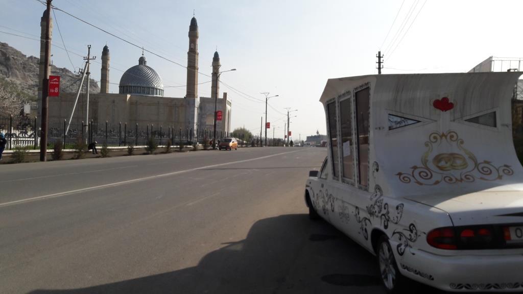 Och Kirghizstan Mosquée