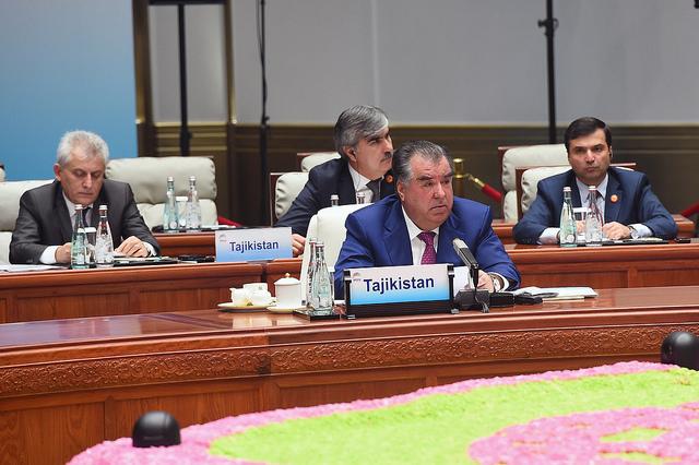 Emomalii Rahmon Chine Tadjikistan Discours BRICS