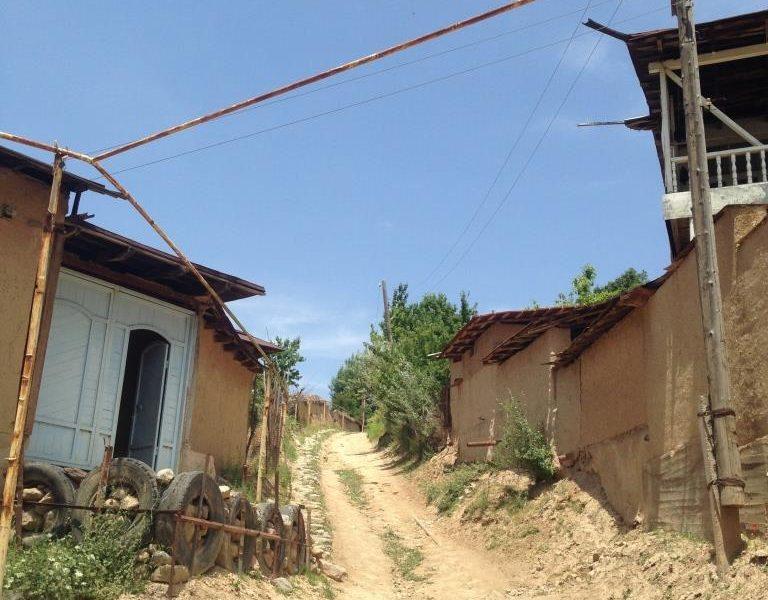Parkent Ouzbékistan Village Chemin