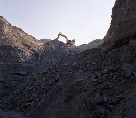 Dans la mine de charbon à Tach Koumyr Kirghizstan