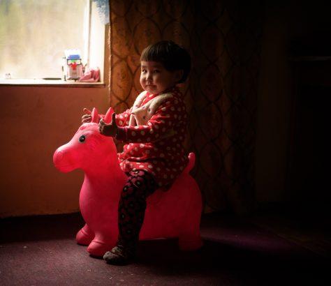 Enfant Jouet Kirghizstan