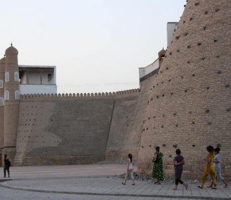 Forteresse Boukhara Ouzbékistan Ark