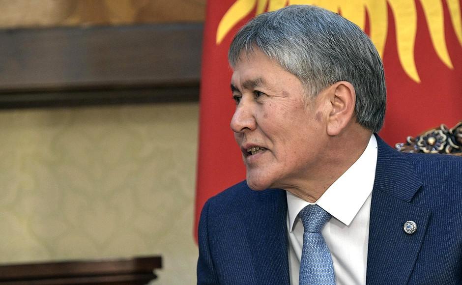 Président Exercice Almazbek Atambaïev