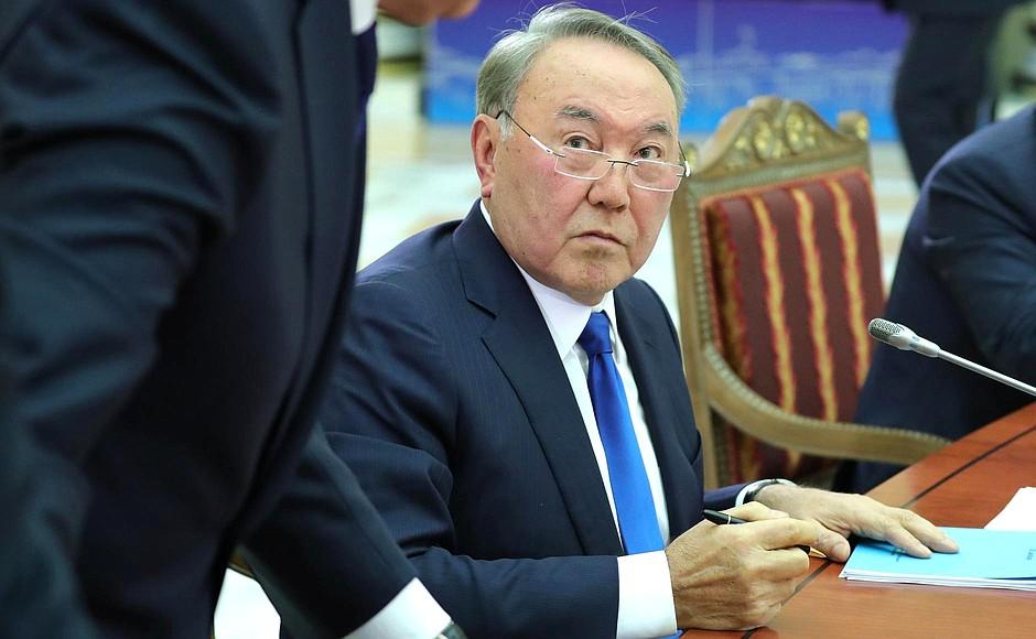 Président Noursoultan Nazarbaïev