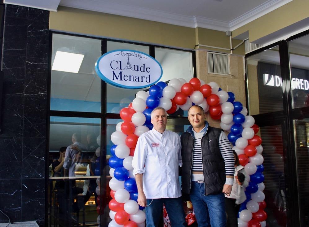 Claude Ménard Partenaire Entrepreneur Maksatbek Assanbekov Boutique Bichkek