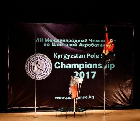 Pole dance Kirghizstan