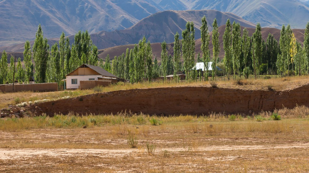 Kirghizstan Village Campagne Maison