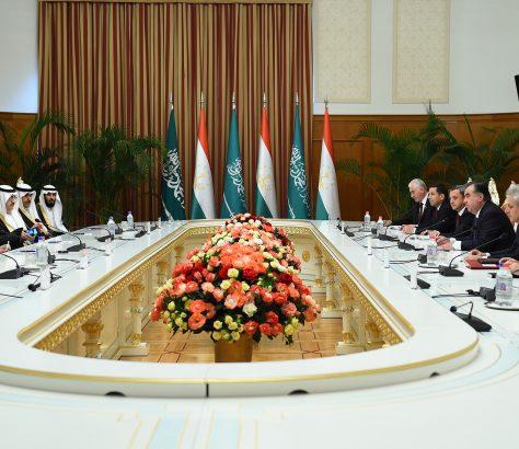 Arabie saoudite Tadjikistan Négociations