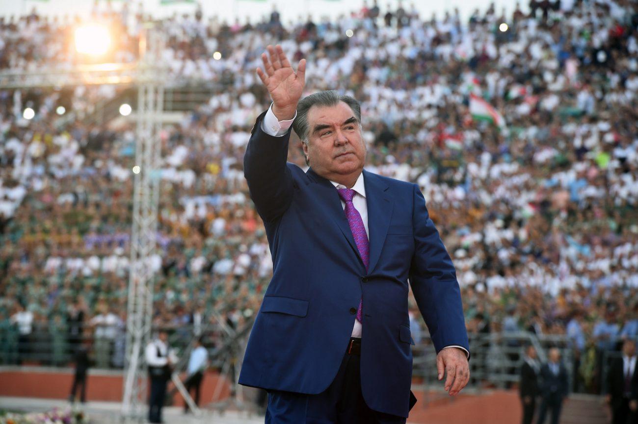Emomalii Rahmon Tadjikistan Indépendance